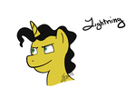Gift for: Supremechaos918 - Lightning by LissyAnneChan