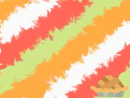Granny Smith Smudge Wallpaper by washboardchaz