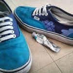 Custom 'Clouds' Vans by Auphelith