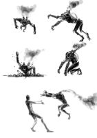 Onyx Ape action gestures by psypher101