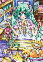 -vocaloid- cooking time by sonnyaws