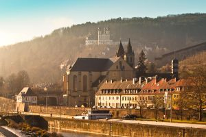 Early morning Wuerzburg by KrisSimon