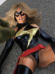 Ms Marvel vs Skrull Champ 12 by DahriAlGhul