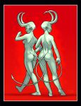 Demon Bums by McGibs