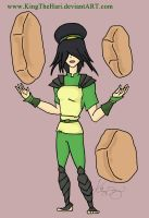 ATLA: Toph Bei Fong (Grown-up Version) by kingthehari