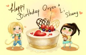 Happy Birthday Quyen by f-wd