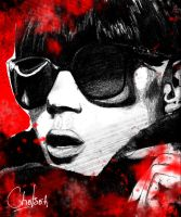 Sunnies in a black world by Ch-Hell-Sea
