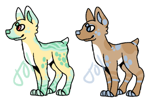 10 point dog adopts CLOSED by electribee