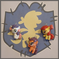 Chibi-Charms: MLP Cutie Mark Crusaders by MandyPandaa