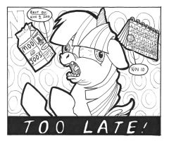 Too Latte by ABronyAccount