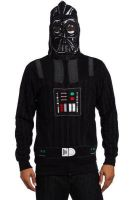 Sith Darth Vader Fleece Hoodie Jacket costume by moviescostume