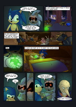 Sonic Duality Arc 1 Issue 1 pg 22 by SkyPirateDash