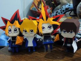 Yu-Gi-Oh! Papercraft by KrazyPerson