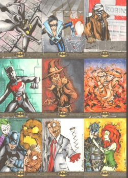 Batman: The Legend Sketchcards 6 by wheels9696