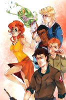 The real Ghostbusters by XMenouX