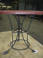 steel table side Grizzly dis. by BROKENHILL