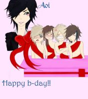 Happy b-day Aoi by RuuSora