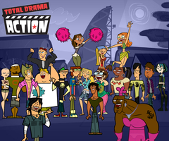 Total Drama Action group shot by DaJoestanator