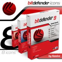 BitDefender Antivirus Icons by XSV
