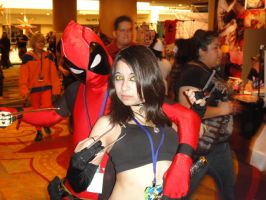 Deadpool and X-23 by LordRedemptionBlaze