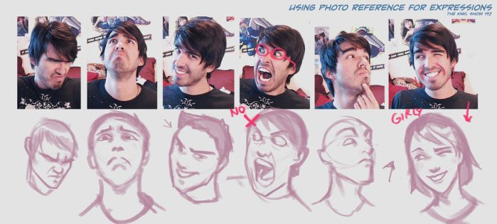 KNKL SHOW 192, Using Photos to Draw Expressions! by KNKL