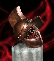 Gladiator helmet by Poserreality3