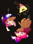 Gravity Falls (the same pun) by ChocoChaoFun