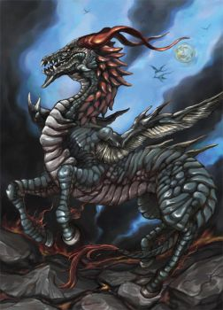 Horse type dragon by hashi00