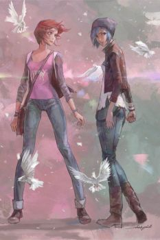 LIFE IS STRANGE by whiskypaint