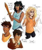 PJO Power Swap by SixofClovers