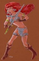 Red Sonja by LEXLOTHOR