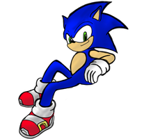 Sonic the Hedgehog! by TezcaPancakes