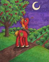 Nighttime at the Orchard by Himawari-chan
