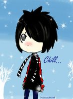 chilled emo boy by PatienceiAIO