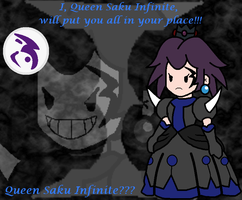 Queen Saku Infinte??? Ruler of the Infinity Empire by TheSpiderManager