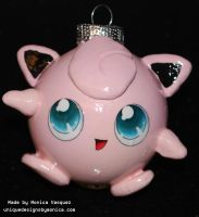 Jigglypuff Ornament by UniqueDesignByMonica