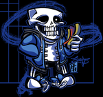 UNDERTALE - Sans by Austin-Hodge