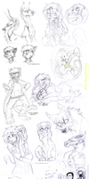 Sketch dump 49 by LiLaiRa