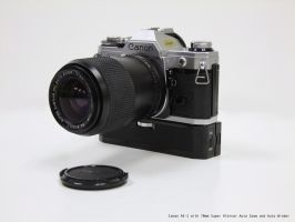 Canon AE-1 with Zoom by yankeedog