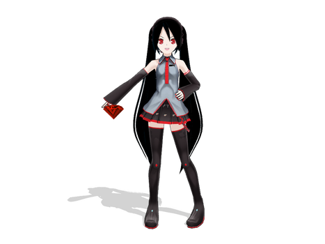 :MMD: 13: All Hail Shadow by PuniPudding