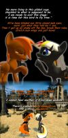 Velvet and Calamity Fly Free by Kev-Dee