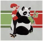 ranma and panda by jimmymcwicked