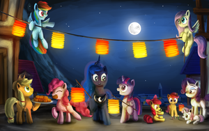 The Moon Festival by AnticularPony