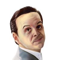 Jim Moriarty (BBC Sherlock) by Ya10