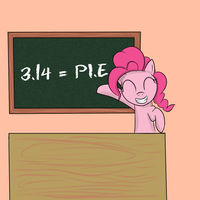 Pinkie Pie's Perfect Math Class by Reikomuffin