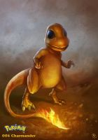 004 Charmander by DanteCyberMan