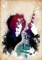 Gary Moore by ianwilgaus