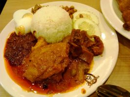 Nasi Lemak special by plainordinary1