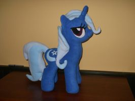 Great and Powerful Trixie custom plush by MLPT-fan