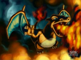Charizard by Rosy-forever